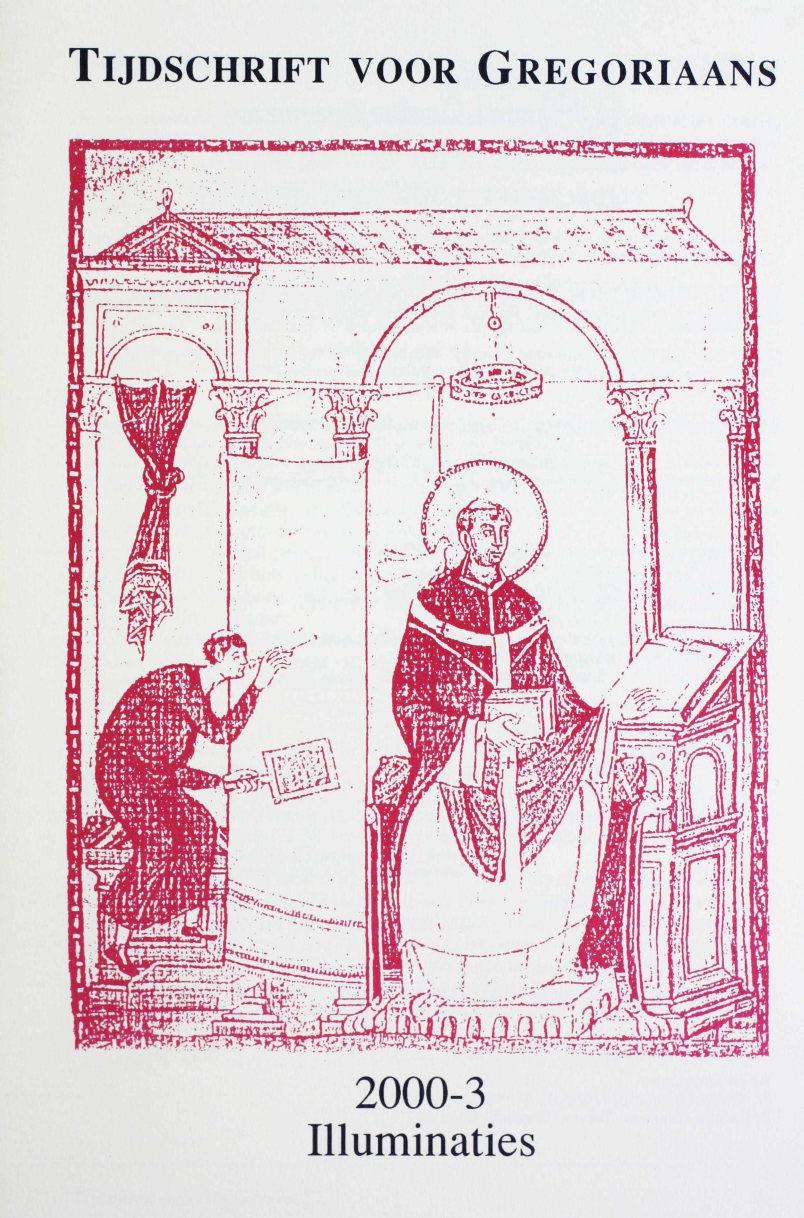 Tijdschrift voor gregoriaans, jaargang 25, nr 3, sept. 2000