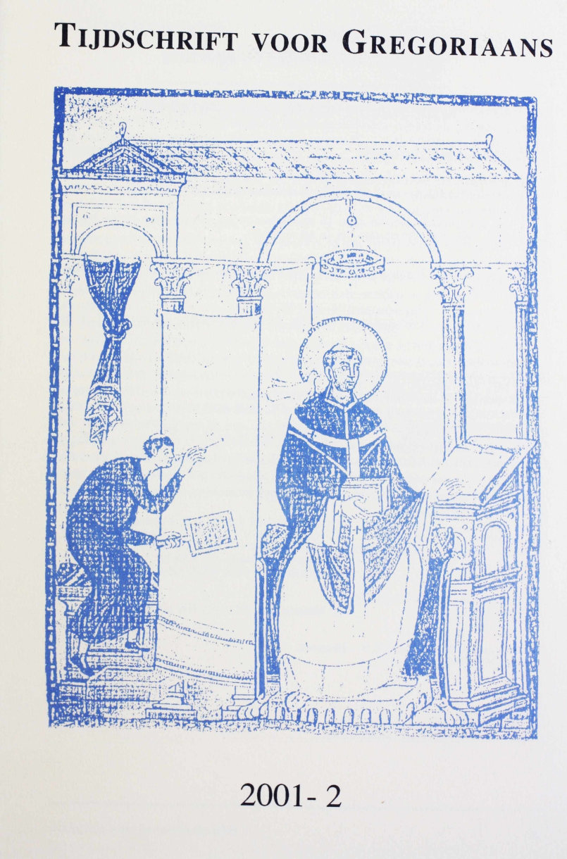 Tijdschrift voor gregoriaans, jaargang 26, nr 2, jun. 2001