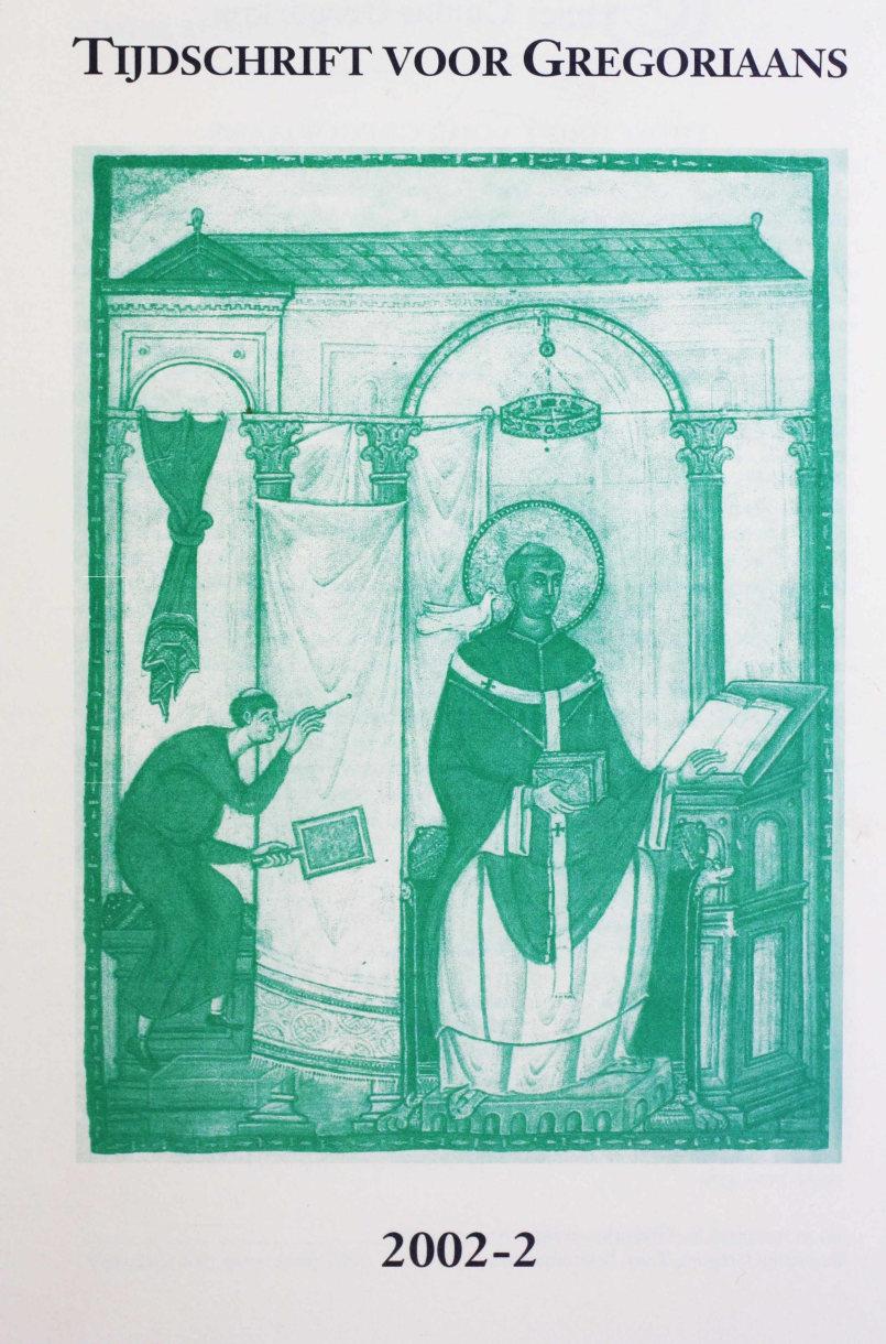 Tijdschrift voor gregoriaans, jaargang 27, nr 2, jun. 2002