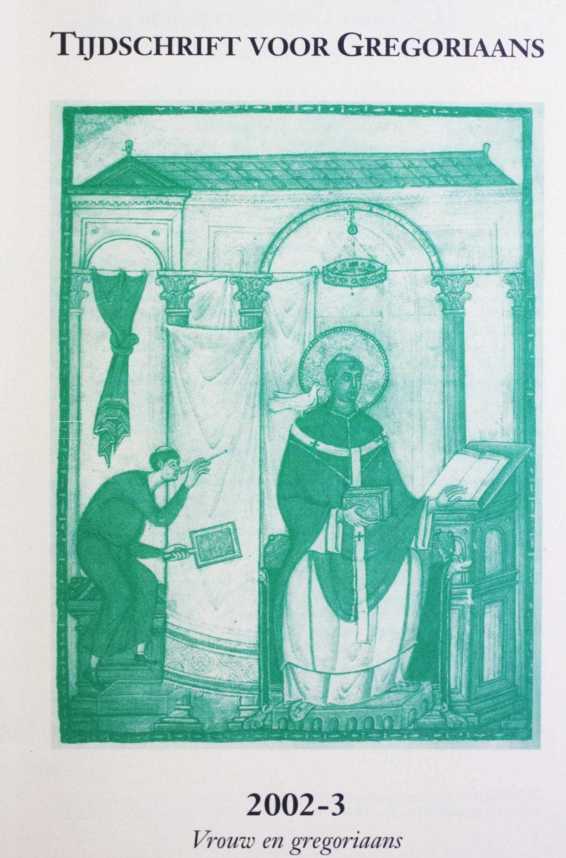 Tijdschrift voor gregoriaans, jaargang 27, nr 3, sept. 2002