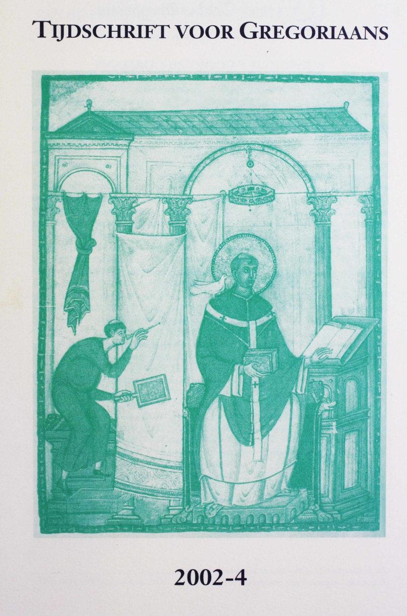 Tijdschrift voor gregoriaans, jaargang 27, nr 4, dec. 2002