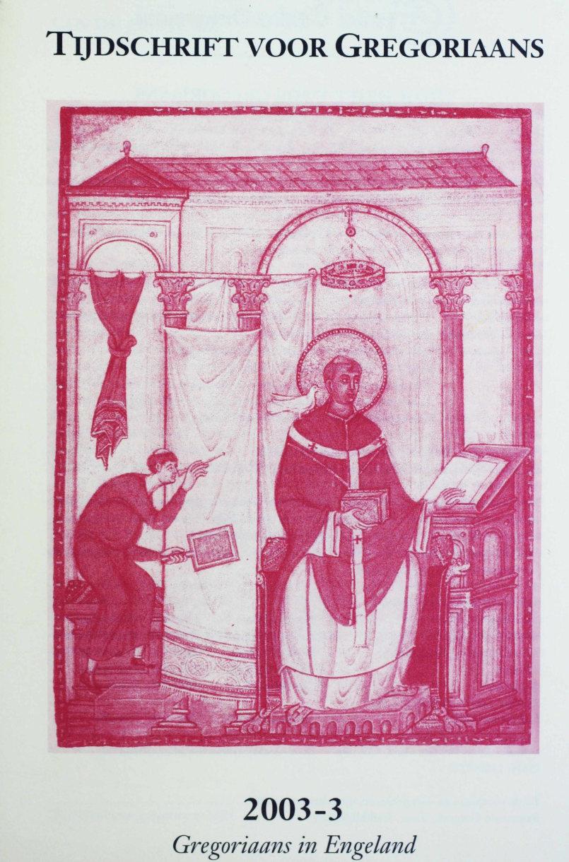 Tijdschrift voor gregoriaans, jaargang 28, nr 3, sept. 2003