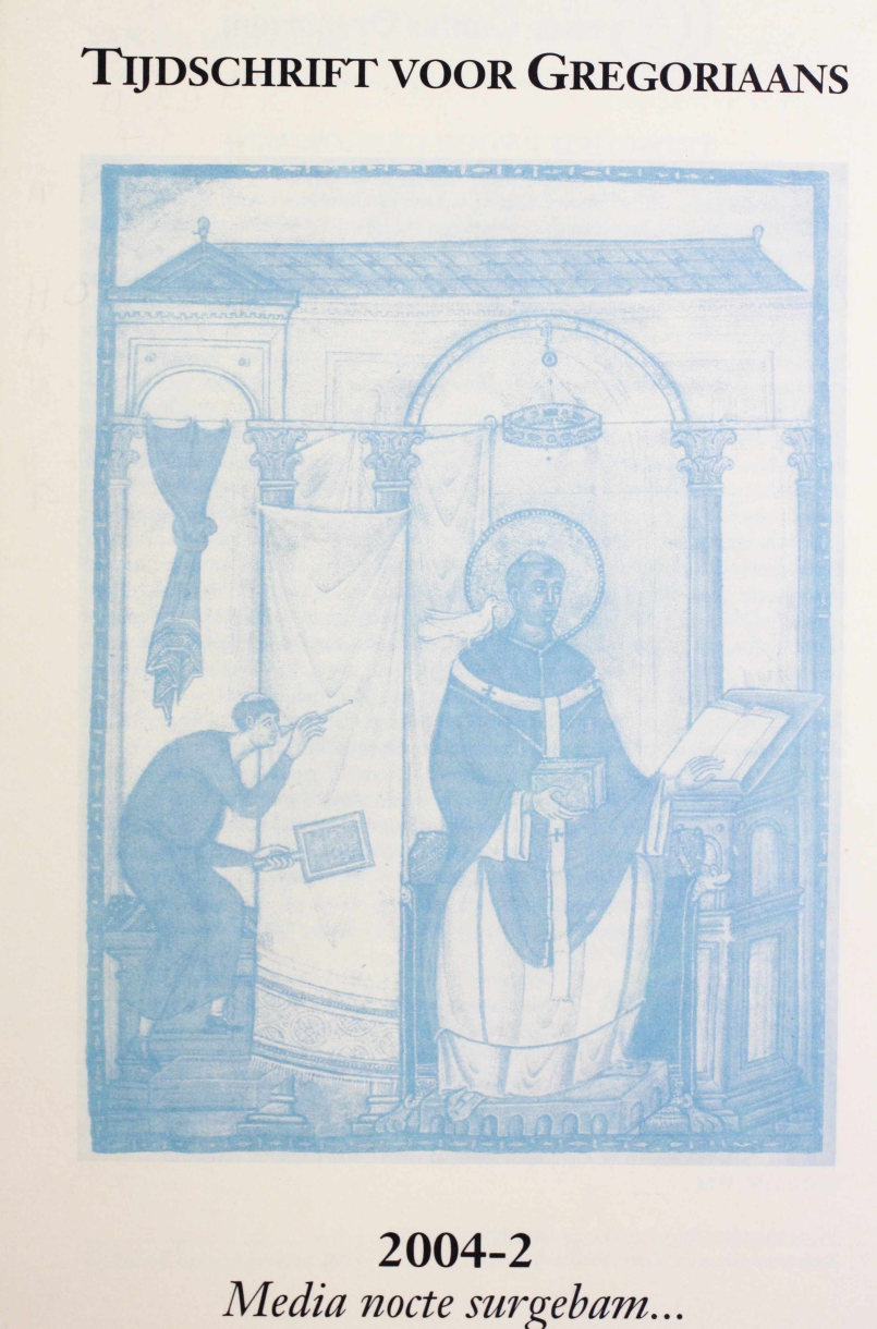 Tijdschrift voor gregoriaans, jaargang 29, nr 2, jun. 2004