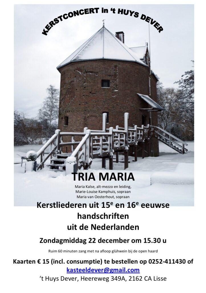 TRIA MARIA poster