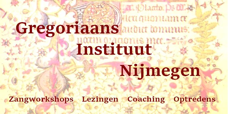 Gregoriaans-Instituut-Nijmegen