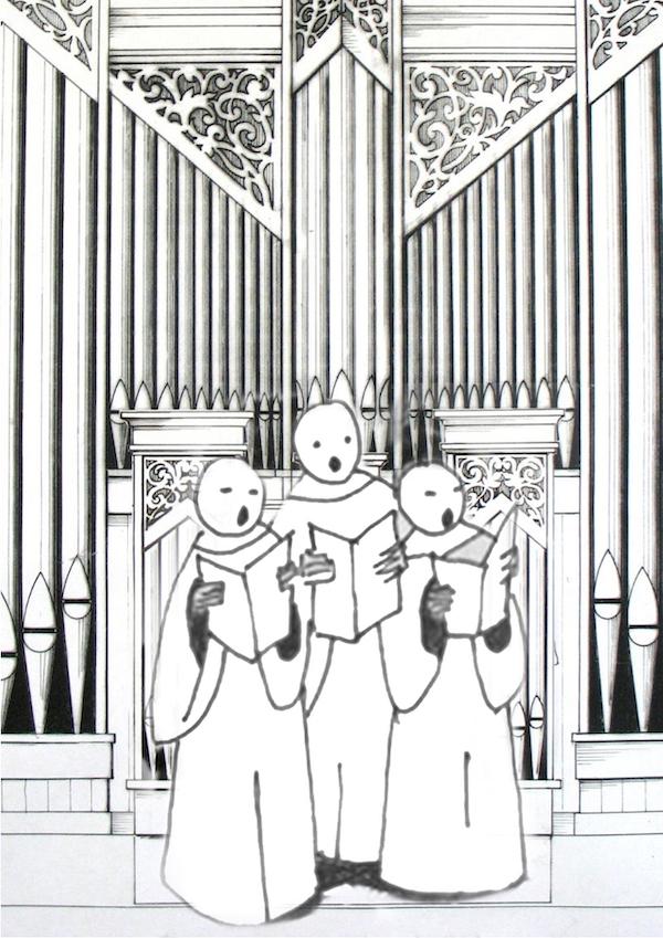 Schola Cantorum Isala tekening